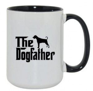 Kubek dogfather doberman