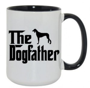 Kubek dogfather saluki