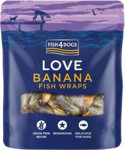 Fish4Dogs - Banana Wraps