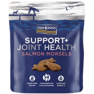 Fish4Dogs Support+ Joint Health Salmon Morsels (225g) - suplement diety na Stawy dla psa