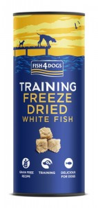 Fish4Dogs Training Freeze Dried (25g) - liofiloizowany treningowe przysmak z ryb dla psa